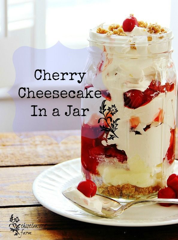 cheesecakeinajar